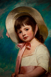 George Romney - Miss Juliana Willoughby (enhanced color) [NGA]