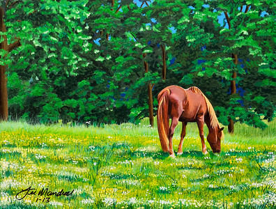 """Cades Cove Grazing"""