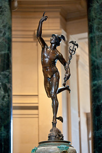 Mercury in the National Gallery of Art Rotunda
