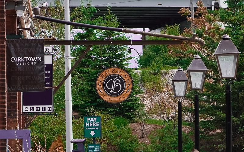 Coffee shop Distillery District