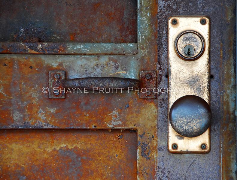 Rusty Old Door, Buford, Georgia