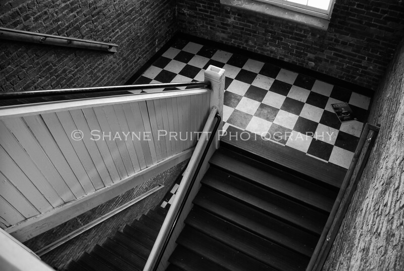 Old Stairwell, Buford, Georgia