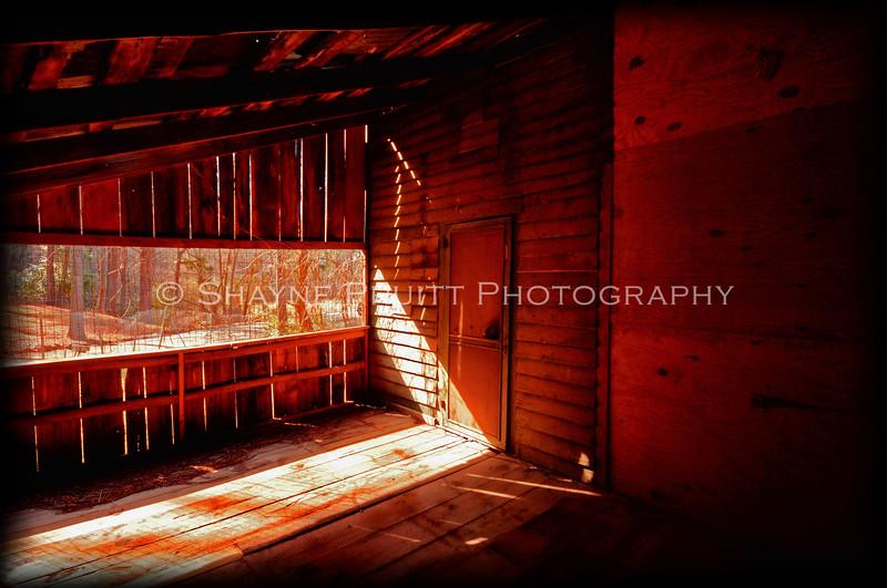 Room Inside an Old Building