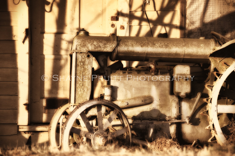 Old Antique Tractor