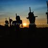Scarecrows at Sunset, Hoschton, Georgia