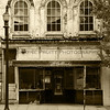 McCulloch's Building Downtown Lexington North Carolina - in Sepia