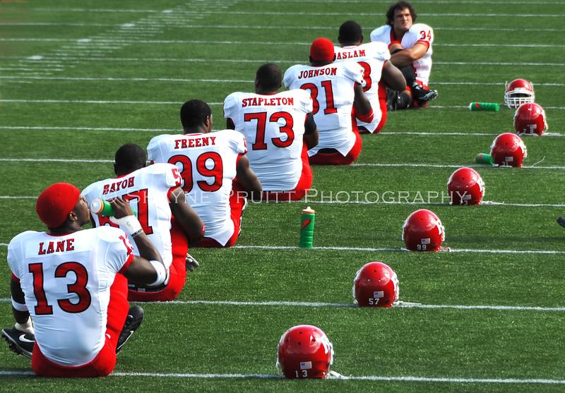 Rutgers Football Team at Navy, Annapolis, Maryland