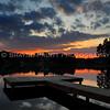 Sunset on Duncans Lake, Buford, Georgia