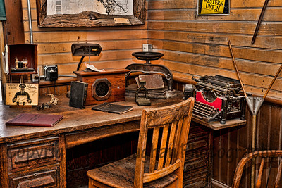 Law's Railroad museum, Bishop, Ca.
