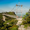 Grandfather Mountains Mile High Swinging Bridge-artistic