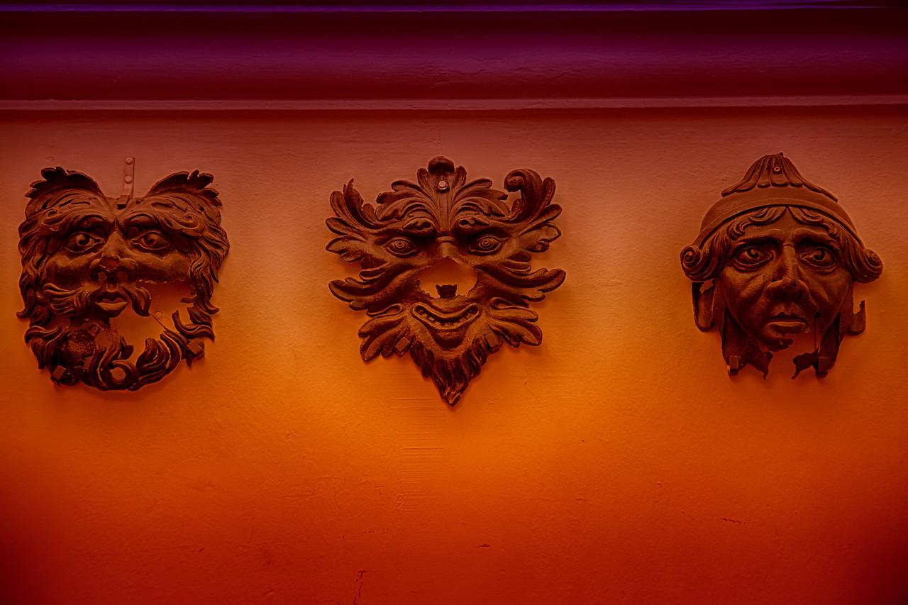 Three Masked men