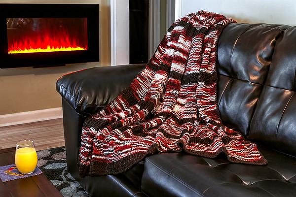 Hand Knitted Afgan