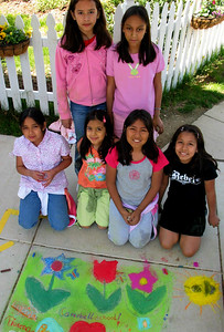 Team Flower Girls  Campbell Elementary School,  Arlington, VA April '06