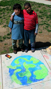 Global Earth Guys Campbell Elementary School April '06