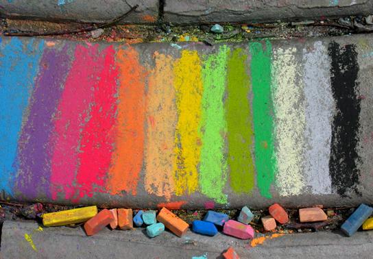 """""""Paint a path of color..."""" CSC Clarendon Cup Bike Race 6/06 Arlington, VA"""