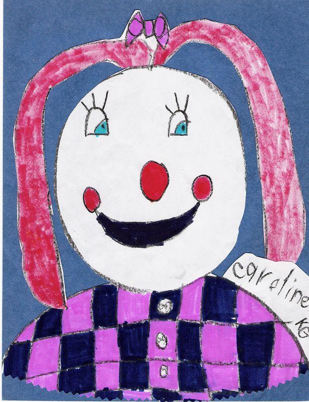 Caroline's Girl Clown, February 2005