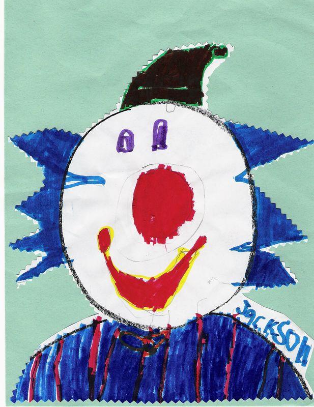 Jackson's Boy Clown, February 2005