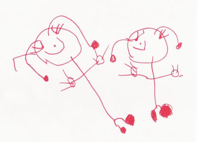 """""""Sisters"""" by Elizabeth, September 2004"""