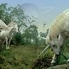 """Pegasus and unicorn""<br /> Digital representation of pegasus and unicorn<br /> 4"