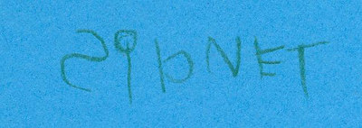 Sidney writing her own name in Aug 2006