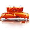 digital artwork of guard crab