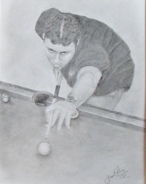 Kerry Shooting Pool