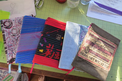notebooks for quilt museum