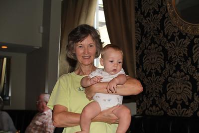 Melanie & baby Robbie