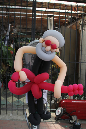 Jerry Garcia balloon man