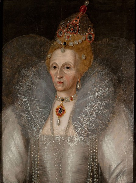 Elizabeth by Marcus Gheeraerts the younger 1536