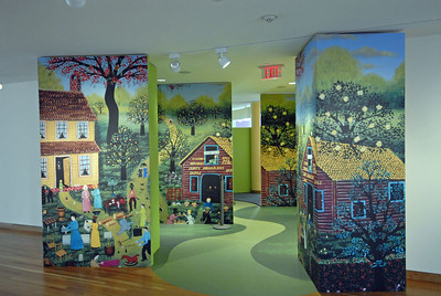 Entrance to children's area