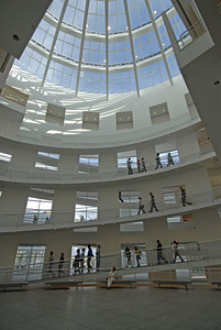 Main lobby in old section of High Museum