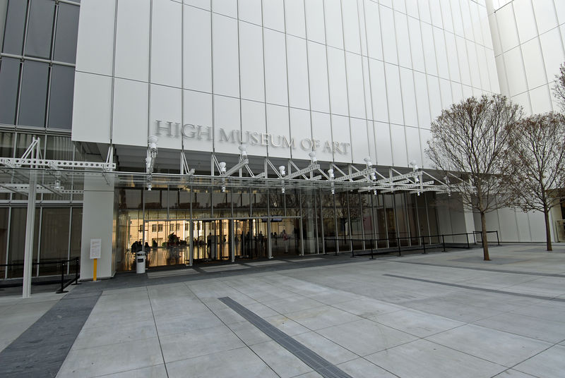 New entrance to High Museum