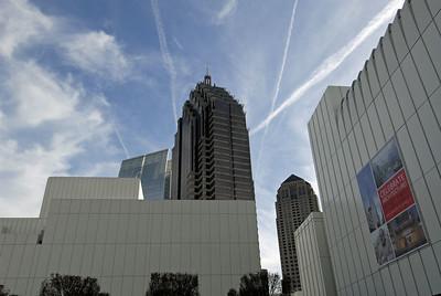 Some of the skyline around the museum