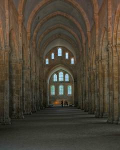 Fontenay Abbey Nave
