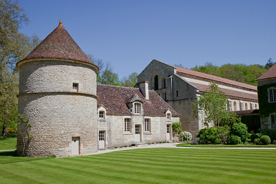 Fontenay Abbey Dovecote and Church