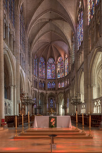 Troyes, Saint Peter and Saint Paul Cathedral Choir