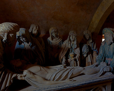 Chaource, Saint Stephen Church. The Entombment