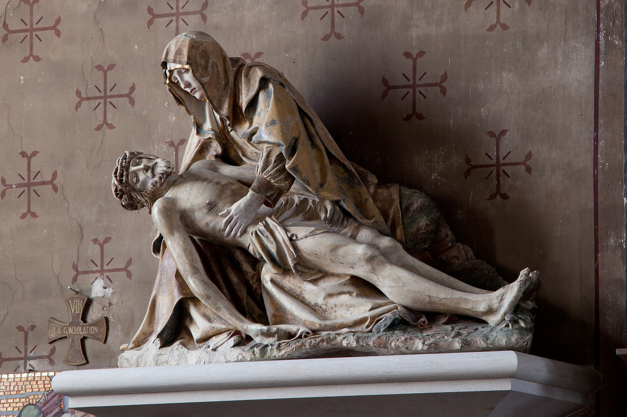 Bayell, Saint Martin Church Pieta