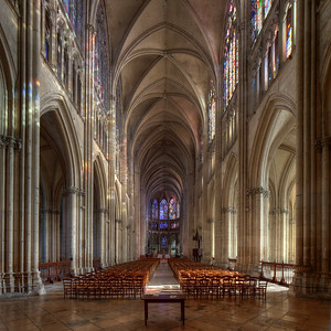 Troyes Saint Peter and Saint Paul Cathedral Nave and Choir