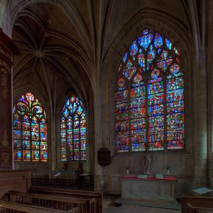 Troyes Sainte-Madeleine Church Ambulatory Windows