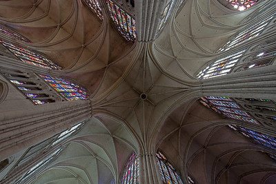 Troyes, Saint Peter and Saint Paul Cathedral Crossing Vaults