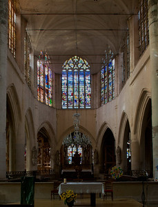 Bar-sur-Seine Saint Stephen Church Choir