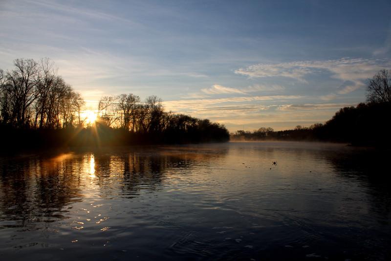 Lock and Dam, Sunrise