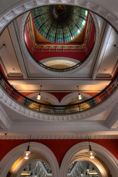 Queen Victoria Building - Central Hall