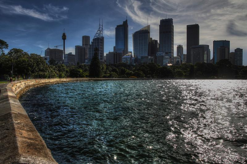 Sydney CBD from Royal Botanical Gardens