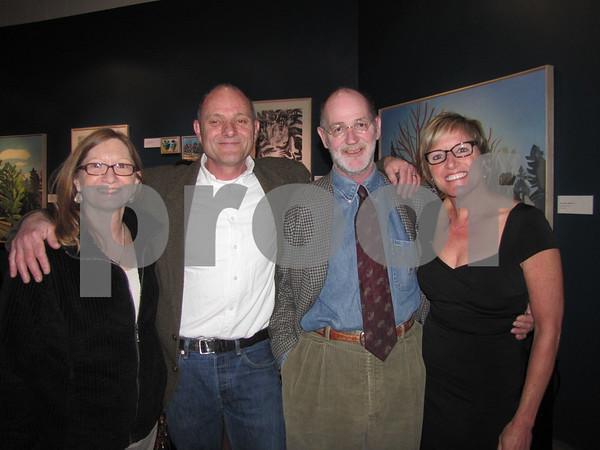 Karla Swanson, Gerald Auten, Dan Swanson, and Auten's sister Kim Rolfes.