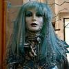 La fille aux cheveux bleus