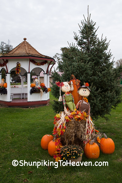 Autumn at the Gazebo, Lafayette County, Wisconsin
