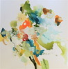 Flora II-Hibberd, 40x40 canvas